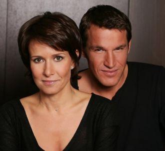 Carole Rousseau et Benjamin Castaldi