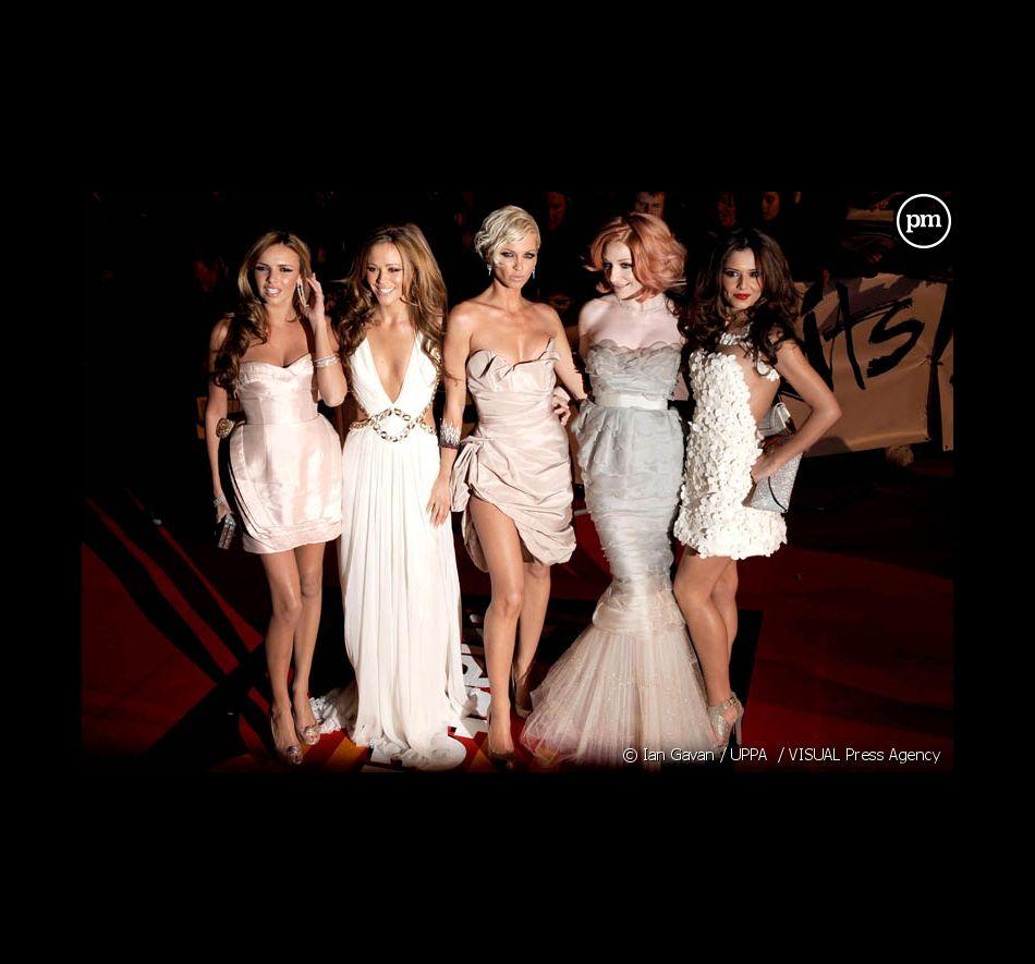Les Girls Aloud aux Brit Awards 2009