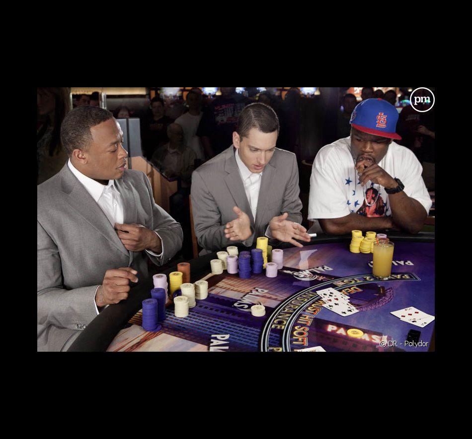 """Dr Dre, Eminem et 50 Cent dans le clip de """"We Made You"""""""
