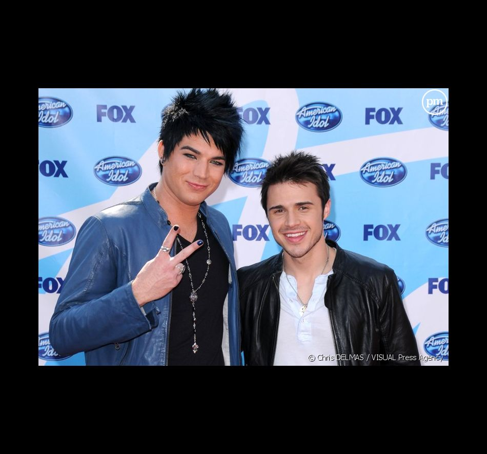 Adam Lambert et Kris Allen