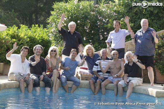 Les soci taires des grosses t tes r unis en juillet 2009 for Auberge de retord maison bouvard
