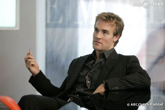 "James Van Der Beek dans ""Ugly Betty"""