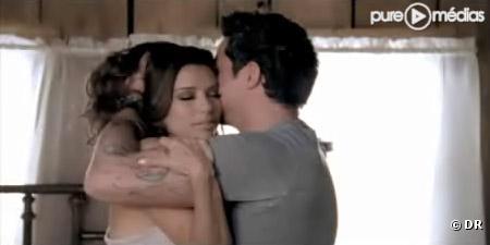 """Eva Longoria Parker et Alejandro Sanz dans le clip de """"Desde Cuando"""""""