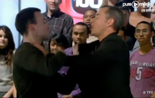 Christophe Dechavanne agressé en direct sur TF1