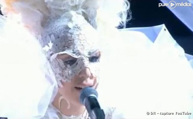 Lady GaGa aux Brit Awards 2010