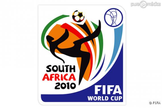 Le logo de la Coupe du Monde 2010 de football.
