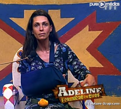Adeline blessée