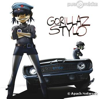Pochette : Stylo (Feat. Mos def and Bobby Womack)
