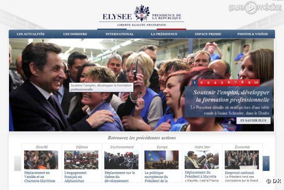 capture d écran elysee.fr