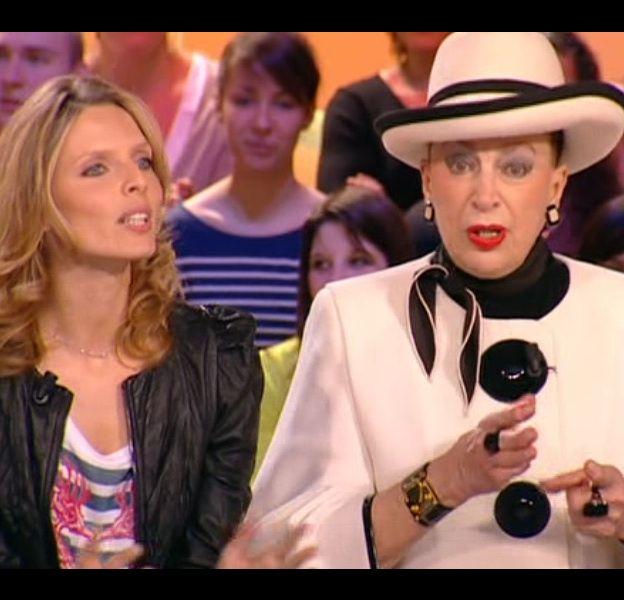 Sylvie Tellier et Geneviève de Fontenay le 9 avril sur Canal+