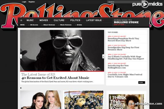 Le nouveau RollingStone.com