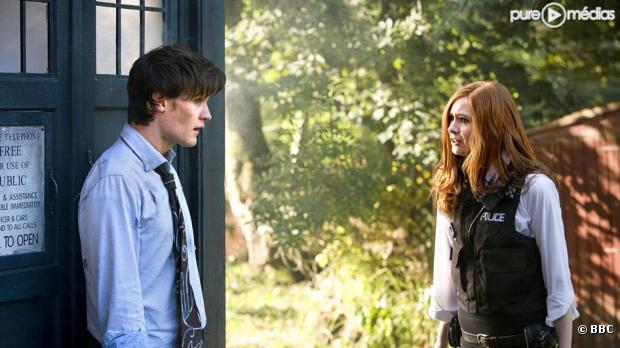 "Matt Smith et Karen Gillan dans ""Doctor Who"""