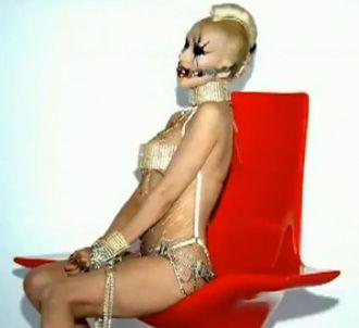 Christina Aguilera dans le clip de 'Not Myself Tonight'