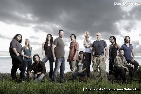 """Le cast de la quatrième saison de """"Lost""""."""