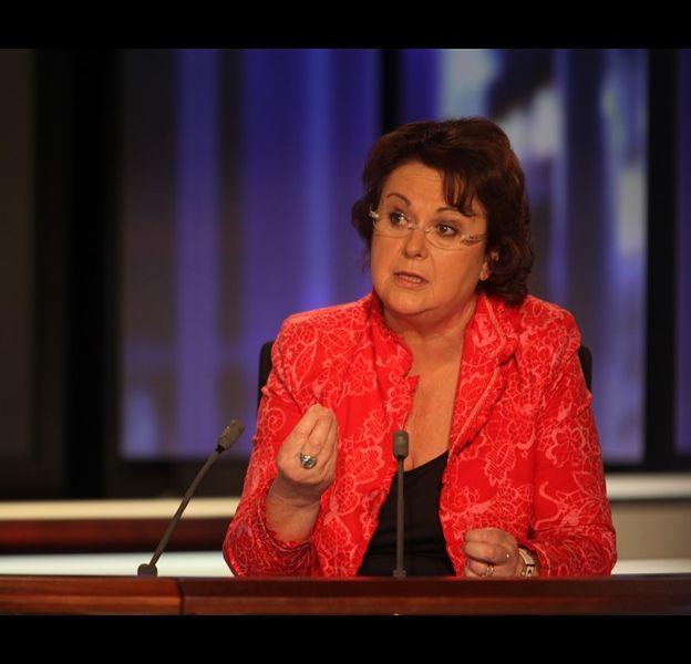 Christine Boutin invitée de David Pujadas, le 10 juin 2010