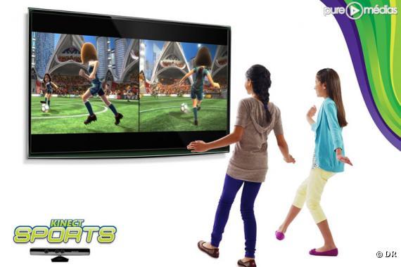 Le nouveau système Kinect de Microsoft.