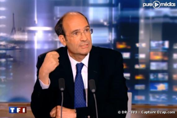 Eric Woerth, le 6 juillet 2010, sur TF1