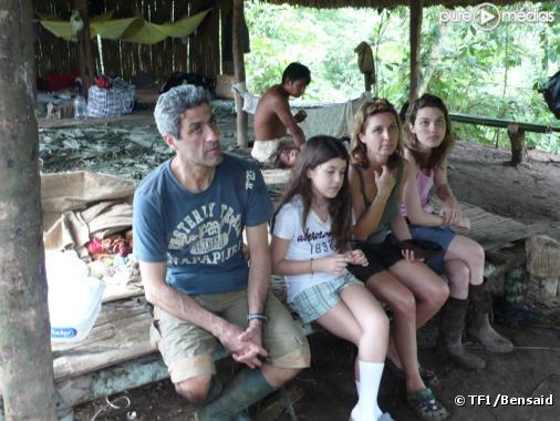 """Une famille française en Amazonie dans """"Bienvenue dans ma tribu"""""""