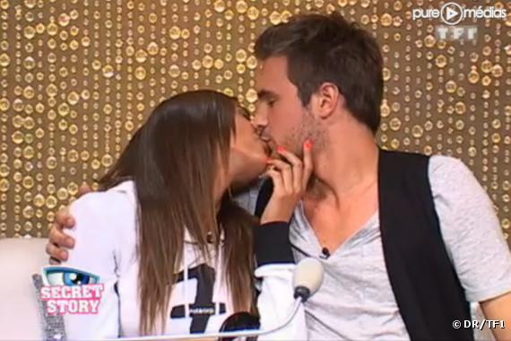 Maxime et Julie se rapprochent... (Secret Story 2010)