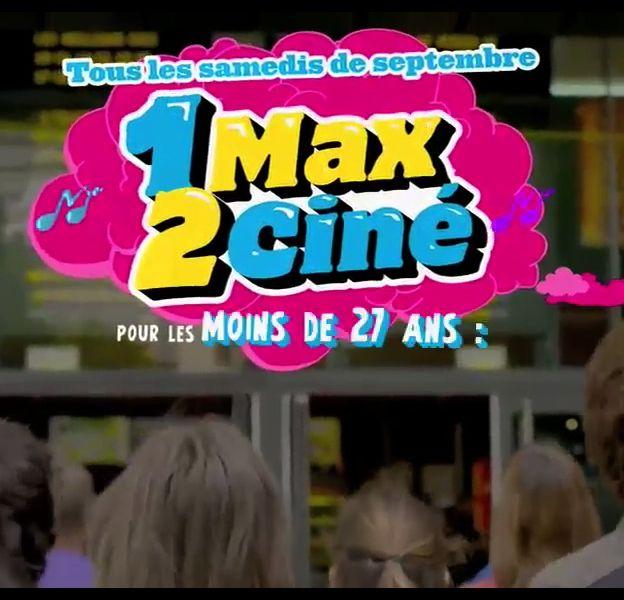 """L'opération """"1 max 2 ciné""""."""