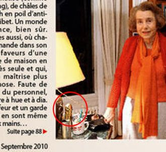 Liliane Bettencourt pose dans 'Capital', septembre 2010