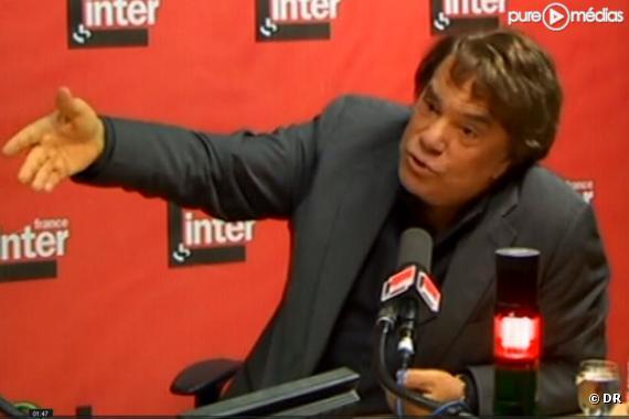 Bernard Tapie, le 11 octobre 2010, sur France Inter