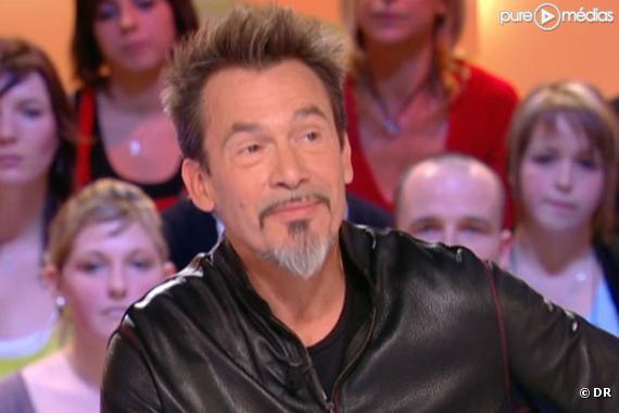 Florent Pagny, le 9 novembre 2010, sur Canal+