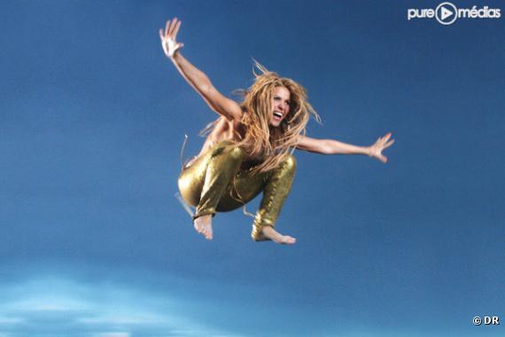 """Shakira sur la pochette du single """"Loca"""""""
