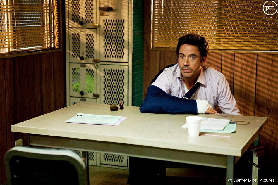 "Robert Downey, Jr. dans ""Date limite"""