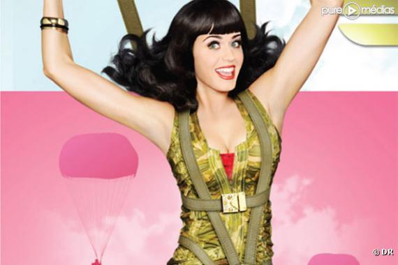 Katy Perry sur l'affiche VH1