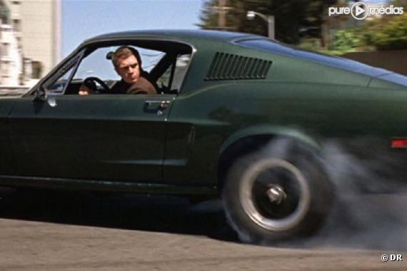 """Steve McQueen dans """"Bullitt"""""""