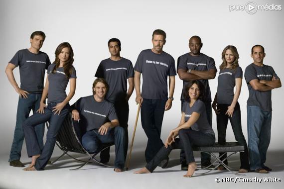"""Le cast de """"Dr House"""" saison 5"""