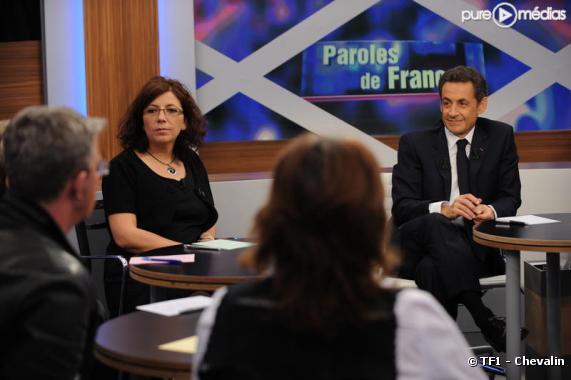 """Nicolas Sarkozy, le 25 janvier 2010 dans """"Paroles de Français"""" sur TF1"""