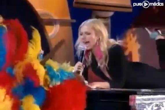 Gwyneth Paltrow face à Cee-Lo Green aux Grammy Awards 2011