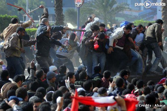 Les partisans du raïs sèment la terreur en Egypte. (Le 2 février 2011)