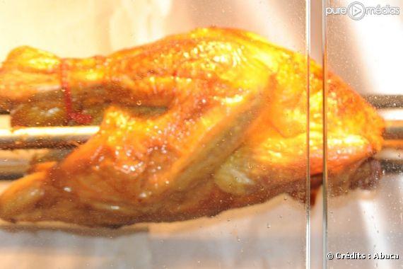Un poulet rôti