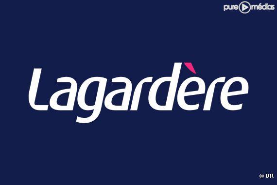 Le logo du groupe Lagardère.