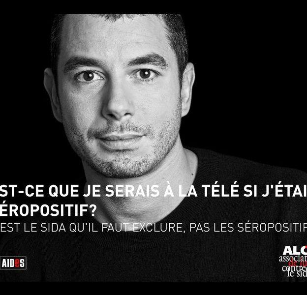 Ali Baddou dans une campagne de lutte contre le sida, au Maroc