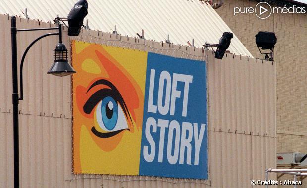 Le studio de Loft Story, le 26 avril 2001.