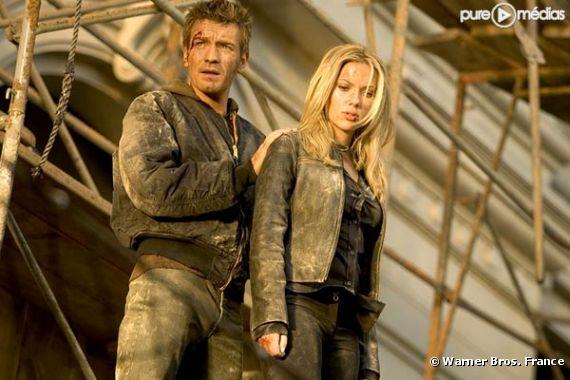 "Ewan McGregor et Scarlett Johansson dans ""The Island""."