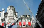 L'Elysée-Montmartre en partie détruit par un incendie