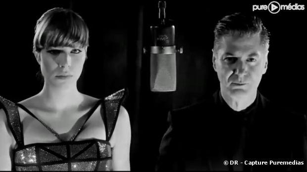"""Calypso et Etienne Daho dans le clip de """"Amoureux solitaires"""""""