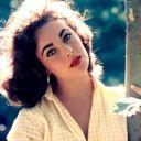 Elizabeth Taylor en 1957.