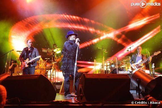 Jamiroquai en concert à Bercy, le 23 mars 2011