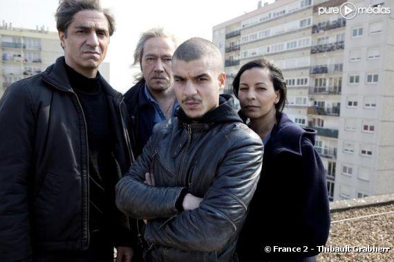 """Le cast de la série """"Les beaux mecs"""" sur France 2"""