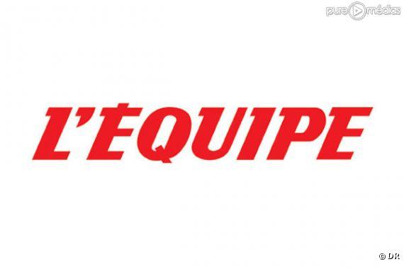 """Le logo du quotidien sportif """"L'Equipe"""""""