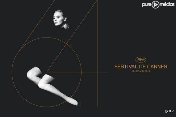 L'affiche du 64ème Festival de Cannes (2011)