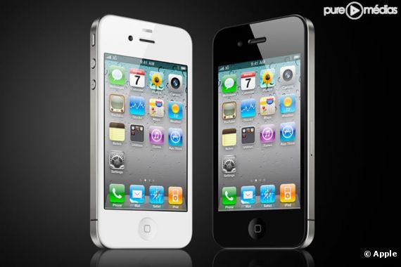 L'iPhone 4.