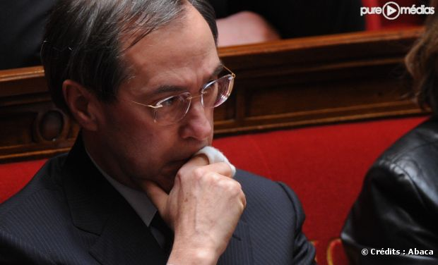 Claude Guéant, ministre de l'Intérieur.