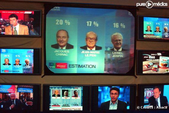 Le 21 avril 2002, Jean-Marie Le Pen accède au second tour de l'élection présidentielle.
